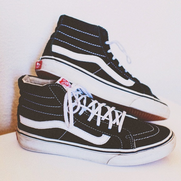441a4e0391 Vans Sk8-Hi Old Skool Slim Fit Black Original. M 5bbe4227f63eea19a059b9e7